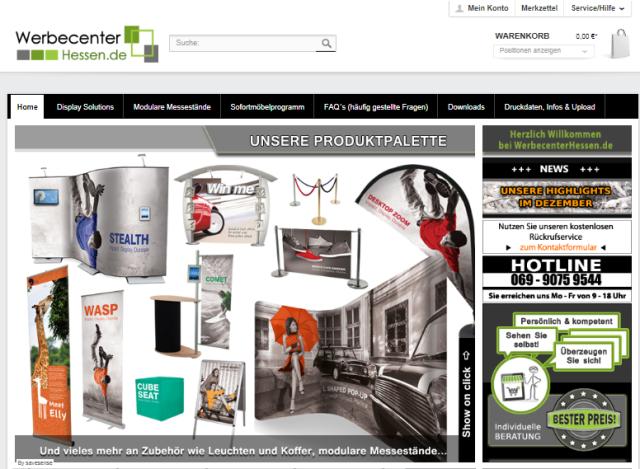 Online Shop in Frankfurt am Main um mit mobile Marketing System e die richtige Werbung für mein Unternehmen zu machen